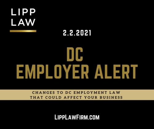 DC Employment Law Change Non-Competes